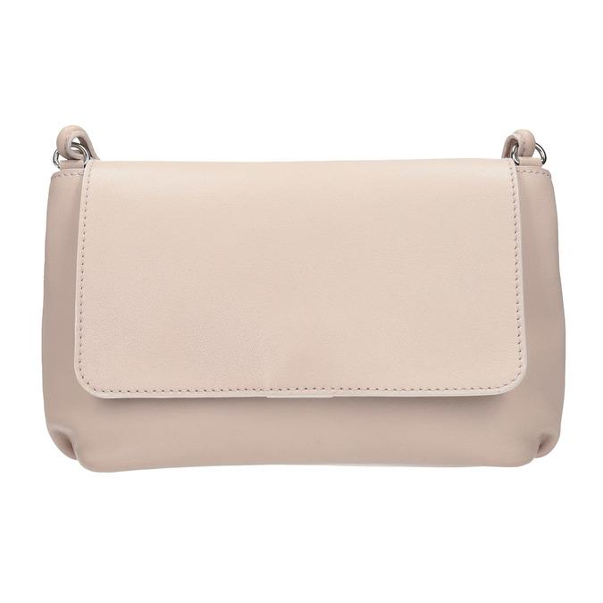Krémová kožená kabelka bata, ružová, 964-9291 - 26