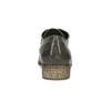 Dámske poltopánky s perforáciou bata, šedá, 521-2609 - 15
