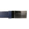 Modrý kožený opasok pánsky bata, modrá, 954-9208 - 26