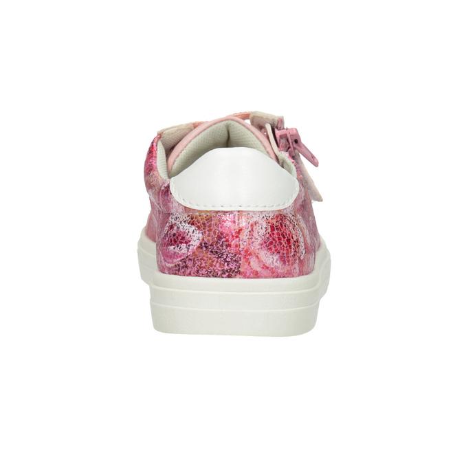 Dievčenské ružové tenisky so zipsom mini-b, 321-5219 - 16