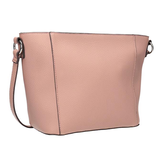 Dámska kabelka s prešívaním bata, ružová, 961-5842 - 13