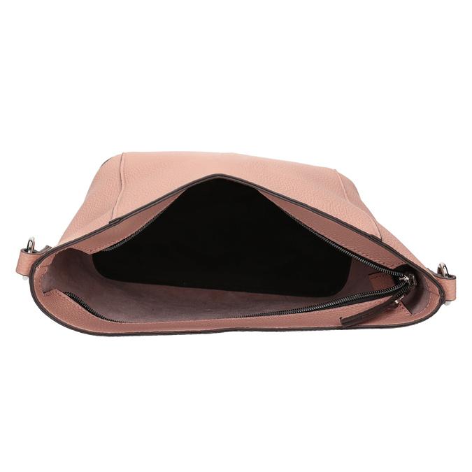 Dámska kabelka s prešívaním bata, ružová, 961-5842 - 15