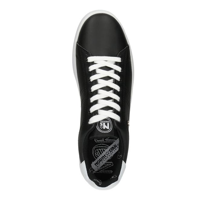 Pánske čierne tenisky north-star, čierna, 841-6611 - 17