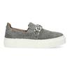 Dámske Slip-on s kovovou prackou bata, šedá, 513-2600 - 19