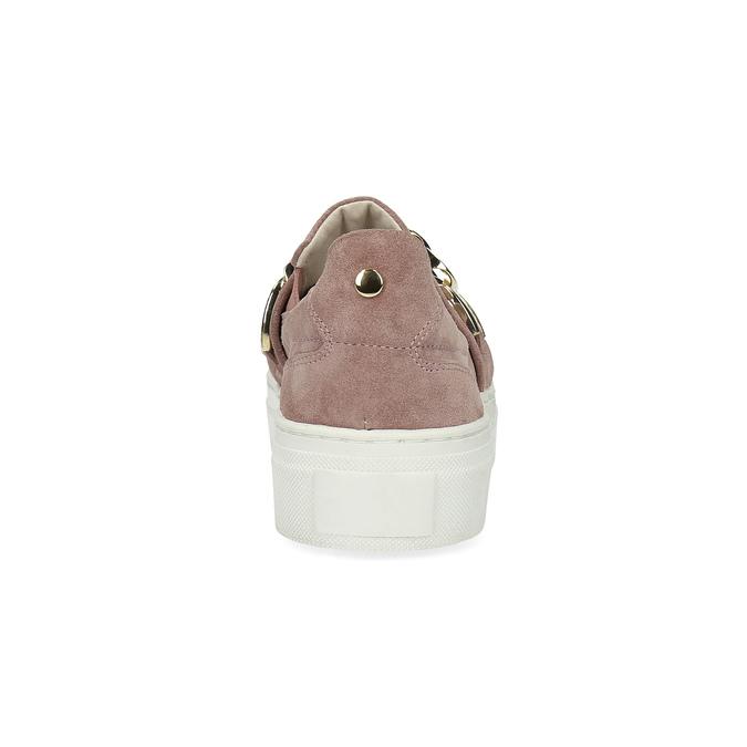 Kožená dámska Slip-on obuv bata, 513-5600 - 15