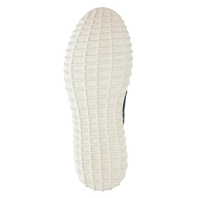Pánska vycházková obuv bata, modrá, 843-9633 - 17