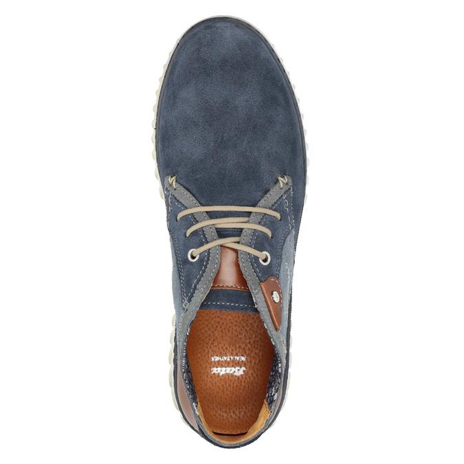 Pánska vycházková obuv bata, modrá, 843-9633 - 15