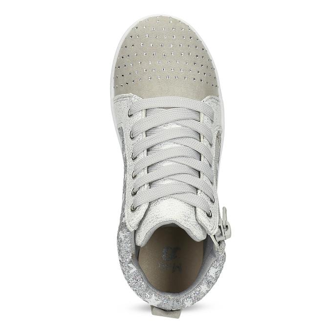 Členkové tenisky s kamienkami mini-b, šedá, 229-2107 - 17