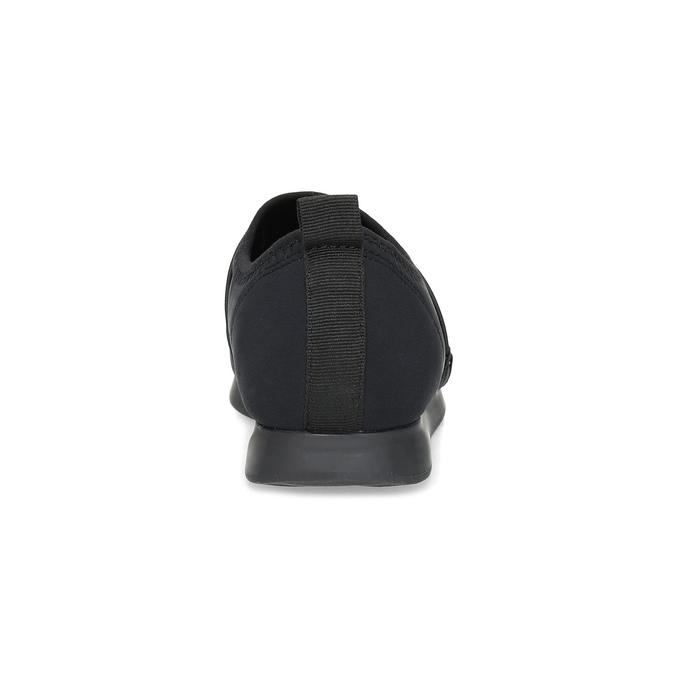 Slip-on tenisky s gumičkami vagabond, čierna, 619-6132 - 15