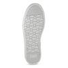 Strieborné dievčenské tenisky s kamienkami mini-b, strieborná, 329-2301 - 18