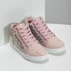 Ružové členkové tenisky s kamienkami mini-b, ružová, 229-5107 - 26