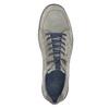 Pánske kožené tenisky bata, šedá, 846-2639 - 17