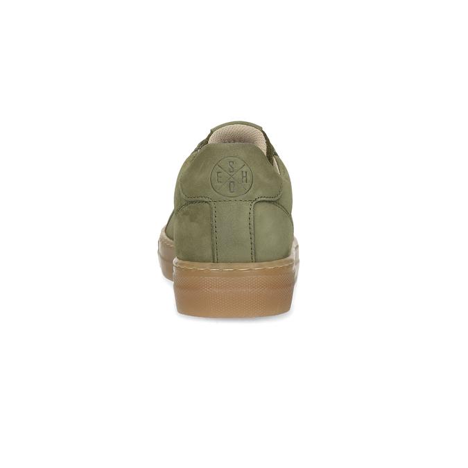 Detské zelené kožené tenisky mini-b, 416-7601 - 15
