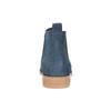 Modré kožené Chelsea čižmy bata, 593-9614 - 15