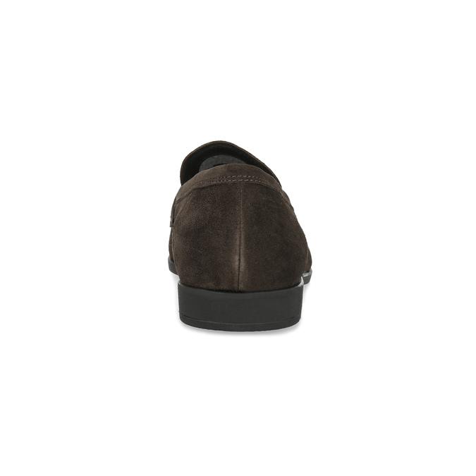 Kožené mokasíny v štýle Penny Loafers vagabond, hnedá, 813-4053 - 15