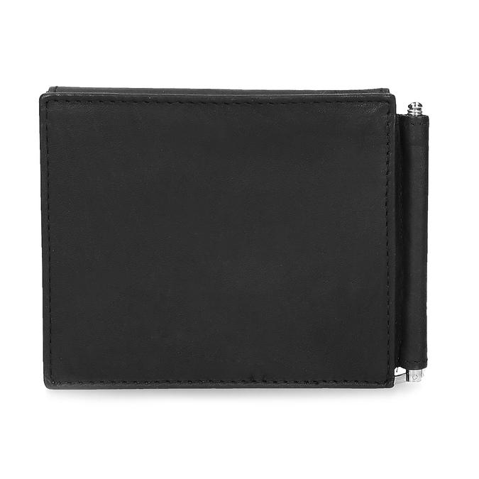 Pánska kožená peňaženka bata, čierna, 944-6209 - 16