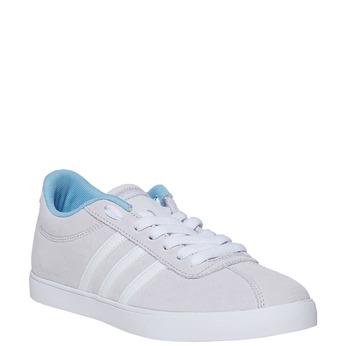 Dámske šedé tenisky adidas, šedá, 501-2229 - 13