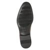 Kožené pánske poltopánky s prešitím bata, hnedá, 826-4995 - 17