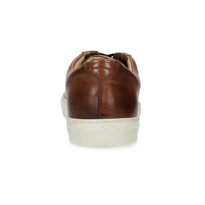 Kožené pánske tenisky bata, hnedá, 846-4648 - 15