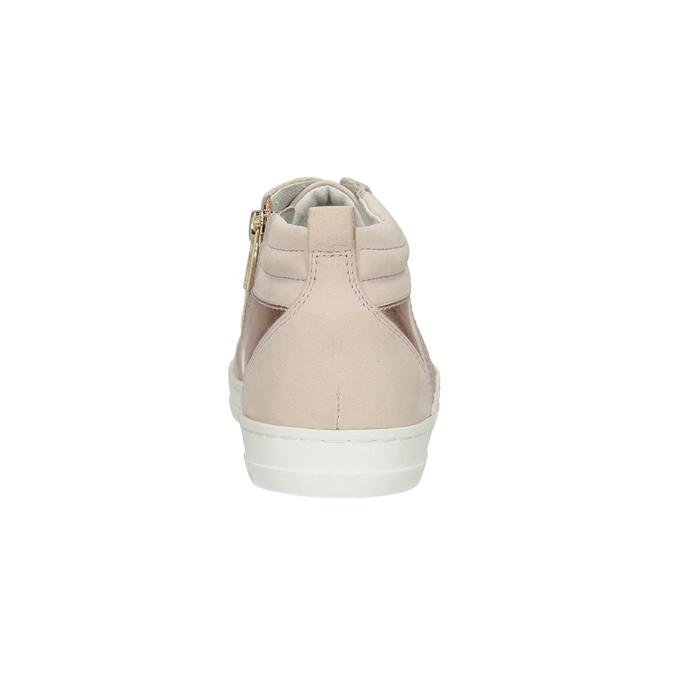 Dámske členkové tenisky bata, ružová, 546-5608 - 16