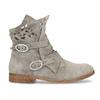 Kožené členkové čižmy s prestrihmi bata, šedá, 596-2689 - 19