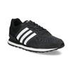Čierne pánske tenisky z brúsenej kože adidas, čierna, 803-6293 - 13