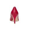 Červené kožené lodičky do špičky insolia, červená, 724-5650 - 15