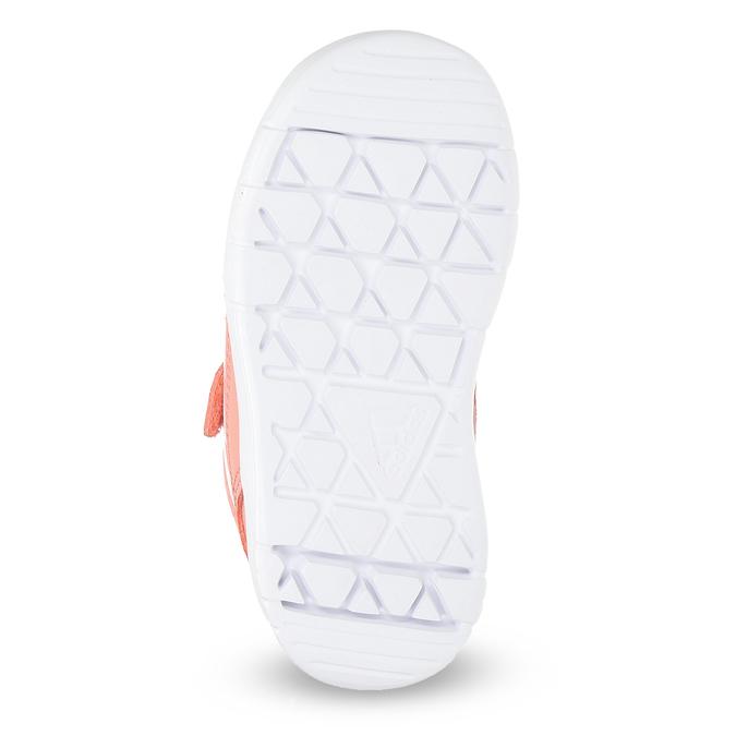 Dievčenské ružové tenisky na suchý zips adidas, ružová, 101-5151 - 18