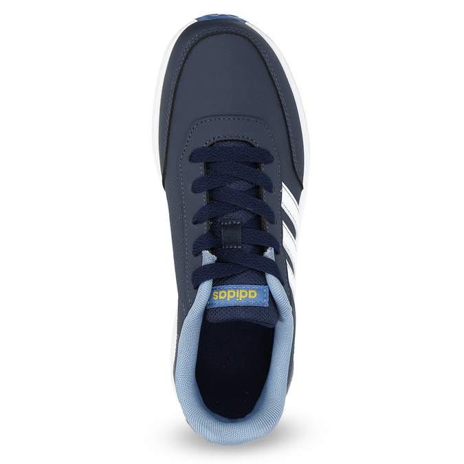 Modré detské tenisky adidas, modrá, 401-9181 - 17