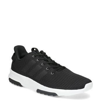 Čierne pánske tenisky v športovom dizajne adidas, čierna, 809-6101 - 13