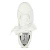 Biele tenisky so saténovou mašľou pepe-jeans, biela, 541-1076 - 17