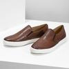 Pánska kožená Slip-on obuv bata, hnedá, 836-4601 - 16