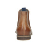 Dámska kožená Chelsea obuv bata, hnedá, 596-3684 - 16