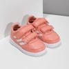 Dievčenské ružové tenisky na suchý zips adidas, ružová, 101-5151 - 26