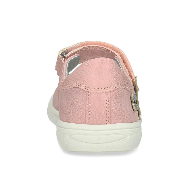 Ružové dievčenské baleríny mini-b, ružová, 221-5216 - 15