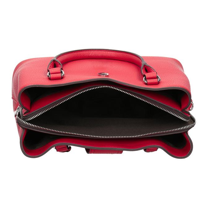 Červená dámska kabelka bata, červená, 961-5216 - 15