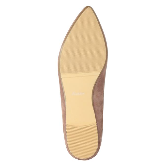 Dámska kožená Loafers obuv bata, 523-5659 - 19