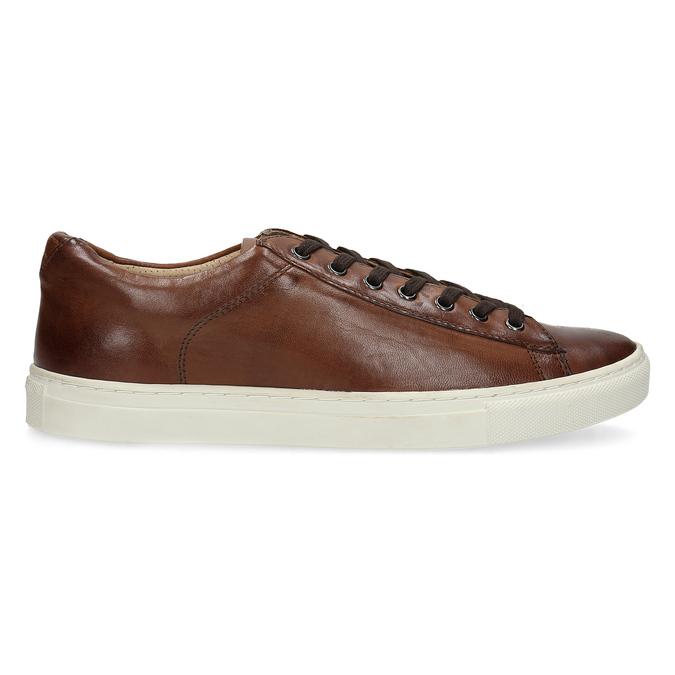 Kožené pánske tenisky bata, hnedá, 846-4648 - 19