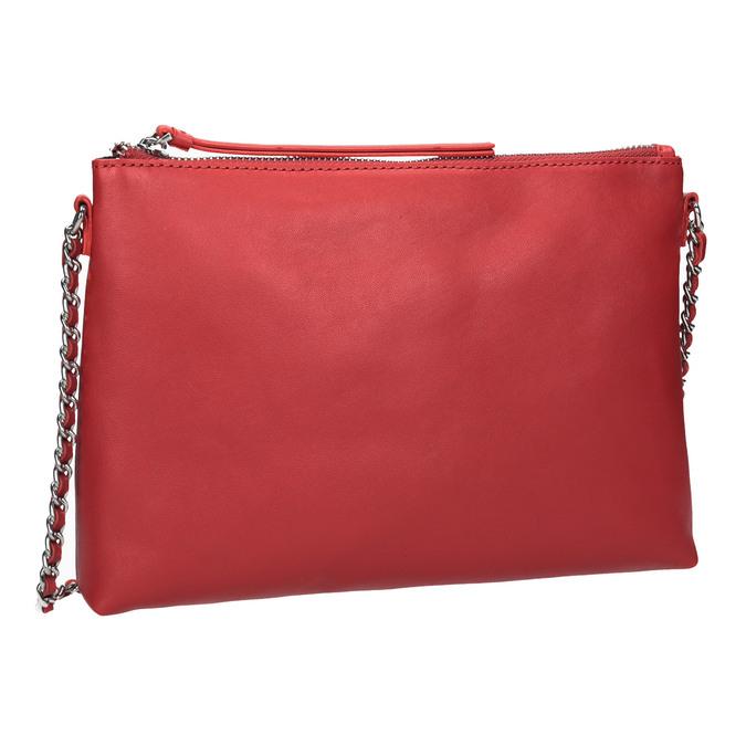 Baťa Červená Crossbody kabelka s retiazkou  04f7053141d