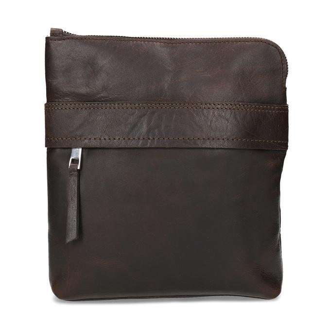 Hnedá kožená Crossbody taška bata, hnedá, 964-4288 - 26