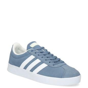 Tenisky z modrej brúsenej kože adidas, modrá, 503-2379 - 13