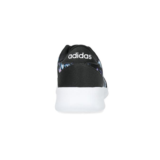 Tenisky s farebným kvetinovým vzorom adidas, čierna, 509-6212 - 15