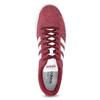 Červené pánske tenisky z brúsenej kože adidas, červená, 803-5379 - 17