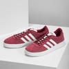 Červené pánske tenisky z brúsenej kože adidas, červená, 803-5379 - 16