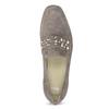 Kožené dámske mokasíny s prackou bata, 516-3616 - 17