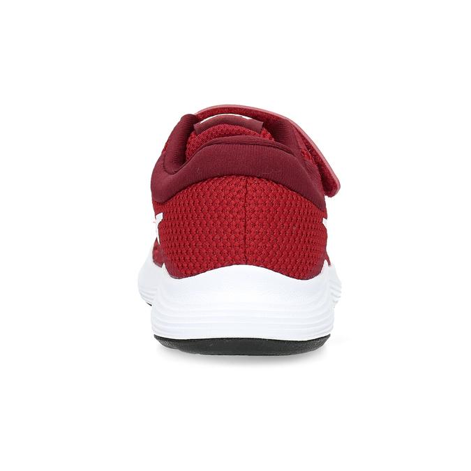 Červené detské tenisky na suchý zips nike, červená, 309-5179 - 15