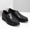 Kožené pánske Loafers fluchos, čierna, 814-6600 - 26