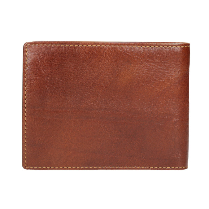 Hnedá kožená pánska peňaženka bata, hnedá, 944-3191 - 16