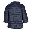 Prešívaný kabát s trojštvrťovým rukávom bata, modrá, 979-9147 - 26