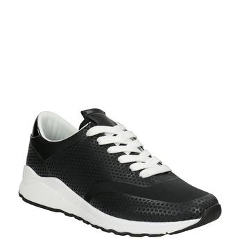 Čierne dámske tenisky bata-light, čierna, 549-6605 - 13